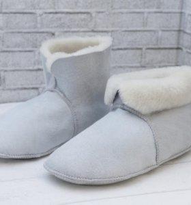Чуни носочки из натуральной овчины