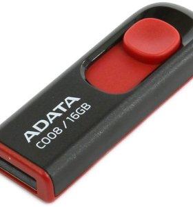 16Gb USB флешка , нераспечатанная,новая .