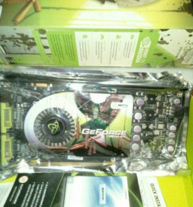 Видеокарта 9600