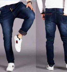Джинсовые брюки мужские , демисезонные новые 2XL