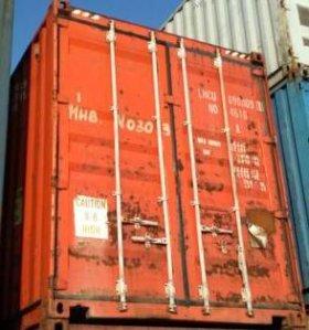Диски хранение контейнер 20-ть футов железный