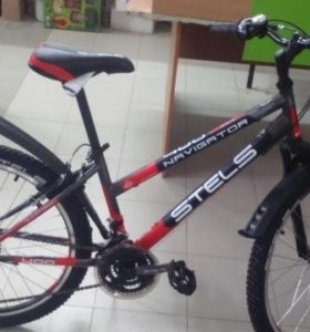 Велосипед стелс навигатор 400v. Колеса 24
