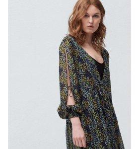 Новое шифоновое платье Mango М