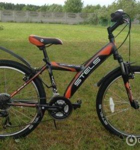 Новый велосипед. Стелс навигатор 410v
