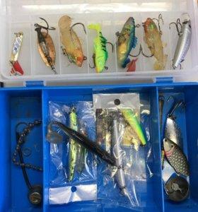 Рыболовные снасти воблеры