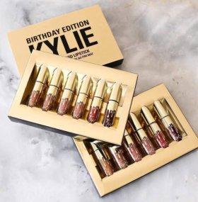 Коллекция жидких помад Kylie Birthday Edition