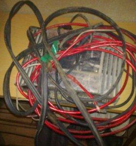 комплект проводов для усилителя