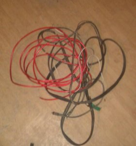 Провода для усилителя -саба