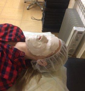 Процедура с альгинатной маской