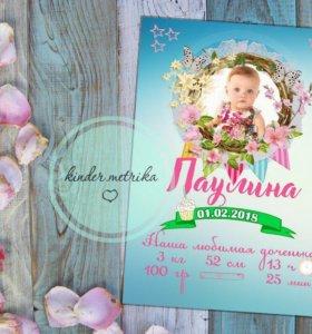 Постеры для детей с фото