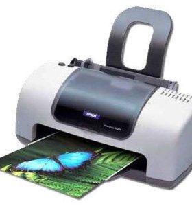 Принтер цветной струйный EPSON STYLUS C40UX