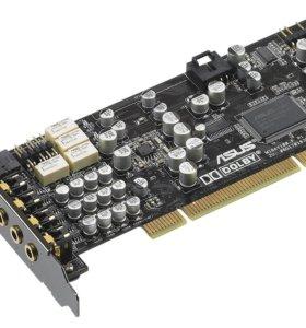 Звуковая карта PCI asus Xonar D1, 7.1, Ret