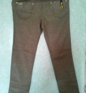 Жен джинсы-стрейч бежев