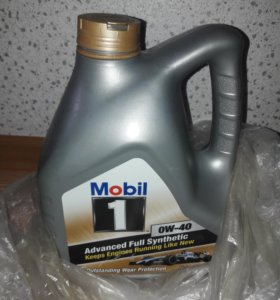 Масло Mobil1 0w-40
