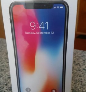 iPhone 10 Space Gray 64gb