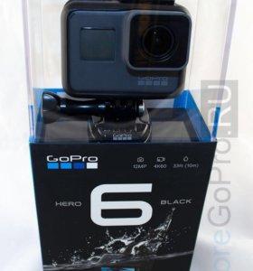 GoPro 6 Black Новая!Кредит!Рассрочка!