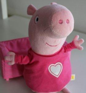 Свинка Пэпа, 25 см.