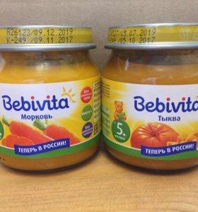 Пюре морковь Bebivita