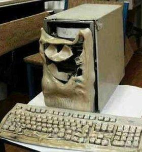 Ремонт компьютерной техники руками из плеч
