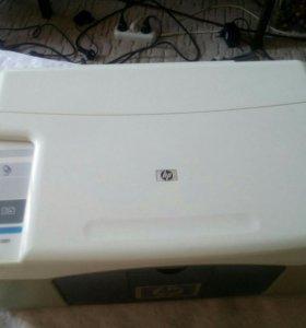 Принтер три в одном, цветной. Цена договорная