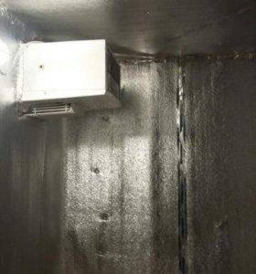 Холодильное оборудование разборное с моноблоком.