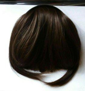 Челка(волосы) на ободке в корейском стиле