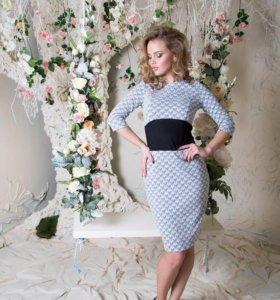 р-р 44-46 Новое элегантное платье