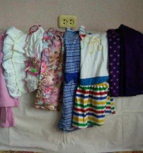 Платья, юбки, кофты.
