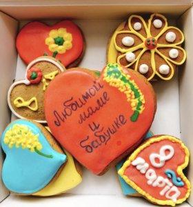 Имбирное печенье - отличный подарок!!!