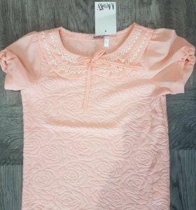 Блузочка на девочку, размеры 122-146