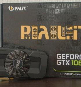 Видеокарта Palit GeForce GTX 1060 3Gb STORMX