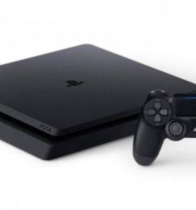 PS 4 Slim 500Gb версия 4.55, новая