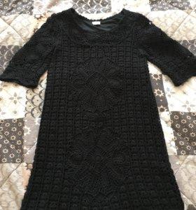 Вязаное платье 42-44