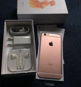 iPhone 6s 64Gb Rose gold новый