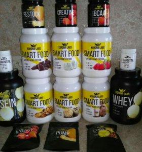 Спортивное питание, диетическое питание.
