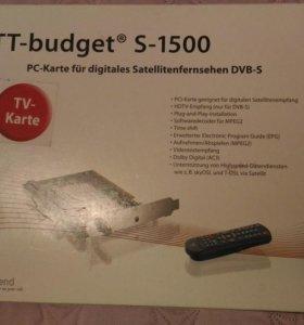 Спутниковый тюнер DVB-S приемник TT-budget S-1500