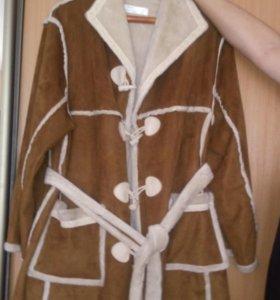 куртка-дубленка искусственная