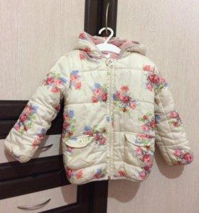 Куртка на девочку 1,5-2 года