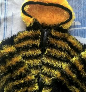 """Вязаный костюмчик""""пчелка"""""""