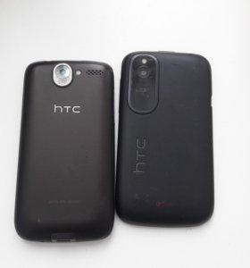 2 телефона НТС .