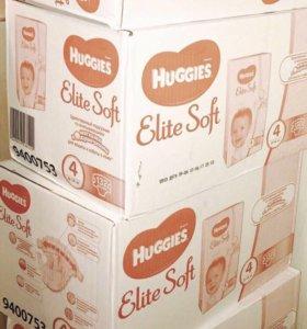 Подгузники Huggies Elite Soft 1.2.3.4.5
