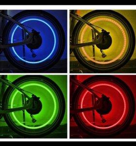 Фонари на ниппеля для авто мотоциклов и велосипеда
