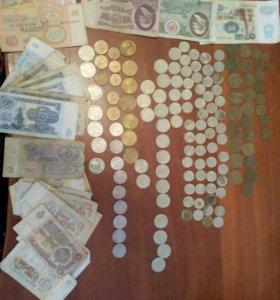 Монеты и банкноты СССР
