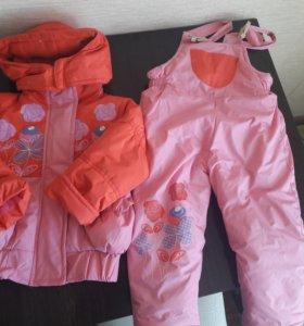 Куртка+комбинезон демисезон