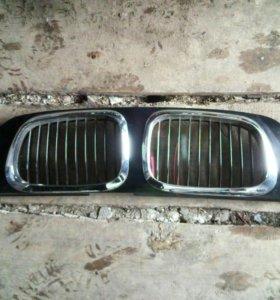 Решетка радиатора Lifan solano в стиле BMW
