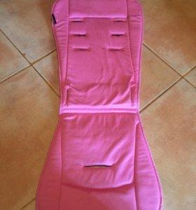 Вкладыш в коляску и для детского стульчика для