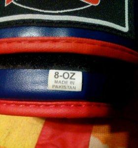 Перчатки боксерские новые,бинты в подарок