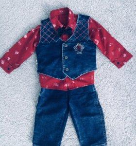 Детский костюм 92 размера. Состояние нового!