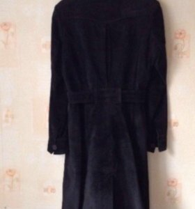 Пальто плащ замшевый 44-46