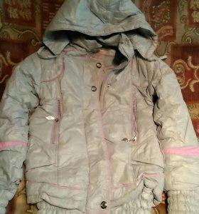 Куртка на девочку новая
